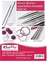 Knit Pro Starterset  - Nickel Plated