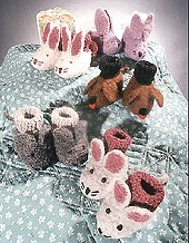 FIBER TRENDS Anleitung - Animal Felt Booties