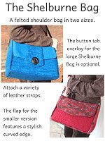 Shelburne Bag - Carol Bristol Design