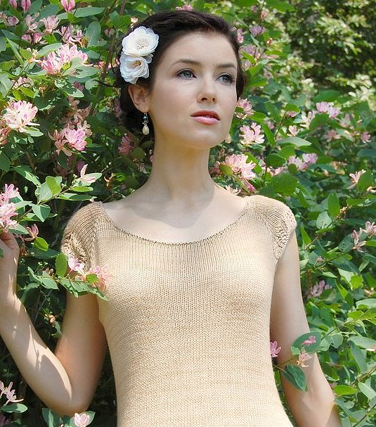 NEVER NOT KNITTING Design - Adult Spring Garden Tee Pattern