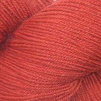 Cascade Heritage Silk - Blood Orange No. 5642 - 100gr.