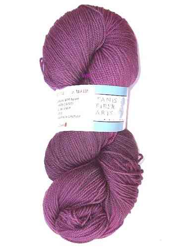 TANIS Blue Label Sockengarn - Plum - 115gr.