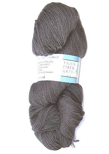 TANIS Purple Label Sockengarn - Charcoal - 115gr.