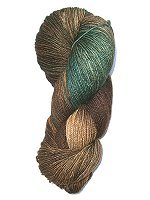 Fleece Artist BFL SOCKS - Walnut - 115gr.