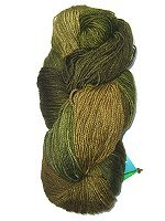 Fleece Artist BFL SOCKS - Olive - 115gr.