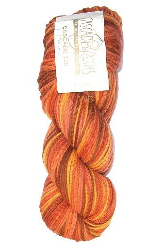 Cascade 220 Paint - Orange Mix No. 9721 - 100gr.