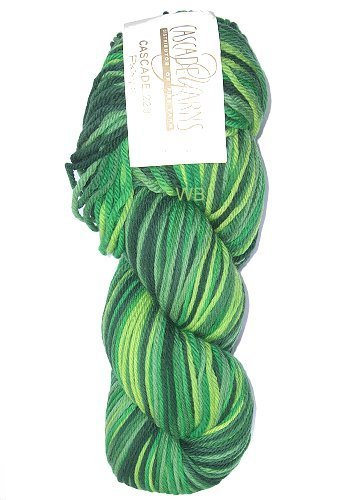 Cascade 220 Paint - Green Mix No. 9722 - 100gr.