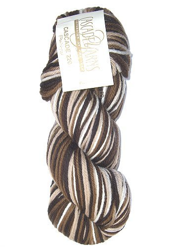 Cascade 220 Paint - Brown Mix No. 9724 - 100gr.