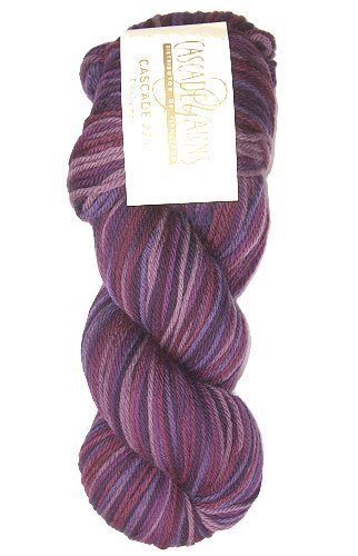 Cascade 220 Paint - Purple Mix No. 9730 - 100gr.