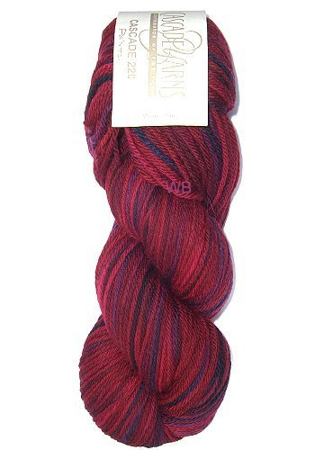Cascade 220 Paint - Cherry Berry No. 9926 - 100gr.