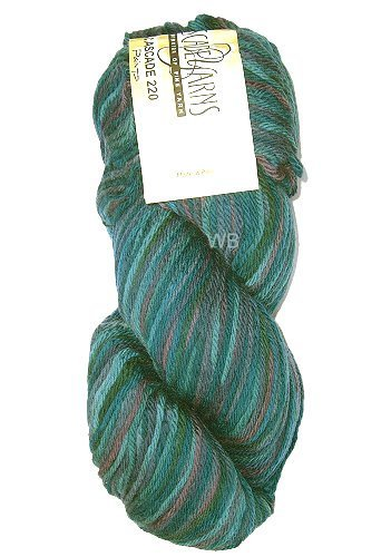 Cascade 220 Paint - Emerald City No. 9930 - 100gr.