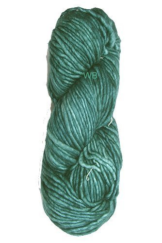 MALABRIGO Mecha - No. 411 Green Gray - 100gr.