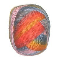 LANG YARNS Jawoll Magic Degrade - No. 033 - 100gr.