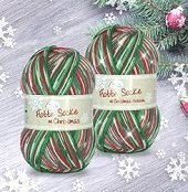 RELLANA Christmas Sockyarn