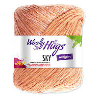 WOOLLY HUGS Sky - No. 29 - 100gr.