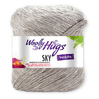 WOOLLY HUGS Sky - No. 15 - 100gr.