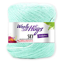 WOOLLY HUGS Sky - No. 63 - 100gr.