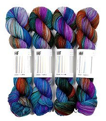 HEDGEHOG Sock Yarn - Dragonfly - 100gr.