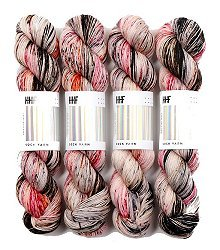 HEDGEHOG Sock Yarn - Film Noir - 100gr.