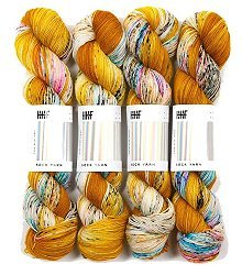 HEDGEHOG Sock Yarn - Fools Gold - 100gr.