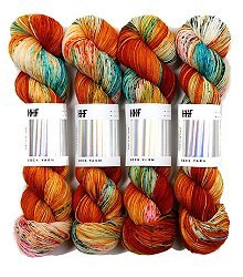 HEDGEHOG Sock Yarn - Guppy - 100gr.