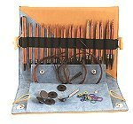 Knit Pro GINGER Wood Interchangeable Needles - Deluxe Set