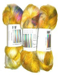 HEDGEHOG KidSilk Lace - Fools Gold - 50gr.