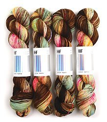 HEDGEHOG Sock Yarn - Beetle - 100gr.